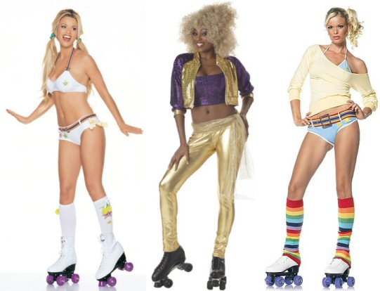 costumes 70s Roller Disco Fashion Women costumes - 70s Roller Disco Fashion Women